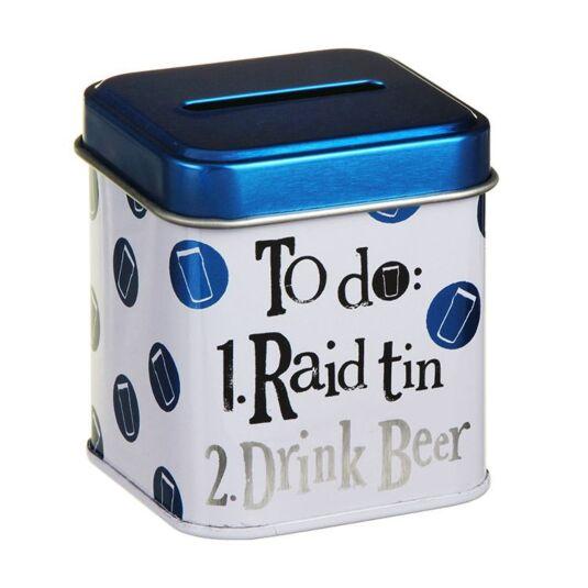 Raid Drink Beer Stash Tin