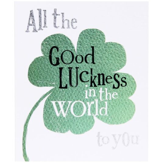 Good Luckness Card