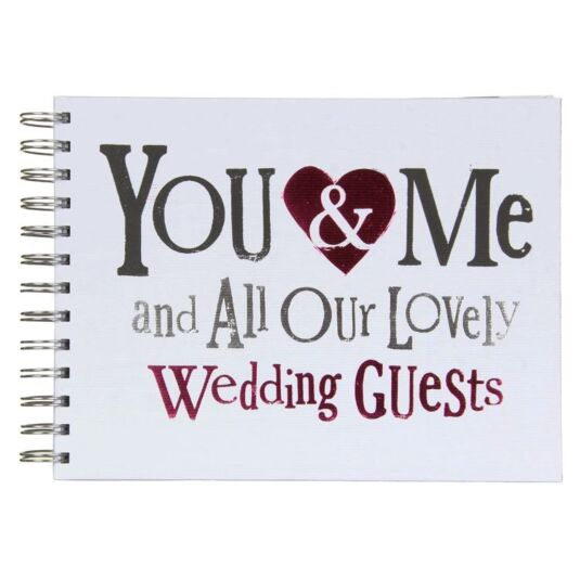 Lovely Wedding Guests Guestbook