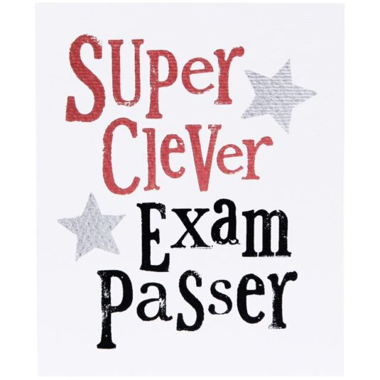 Super Clever Exam Passer Card