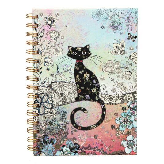 Bug Art Cat A5 Notebook