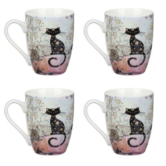 Bug Art Set of 4 Boxed Mugs