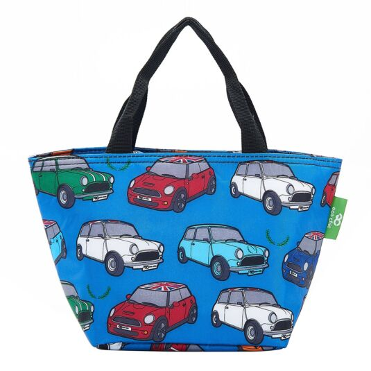 Blue Minis Insulated Lunch Bag
