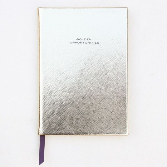 Gold Casebound Notebook