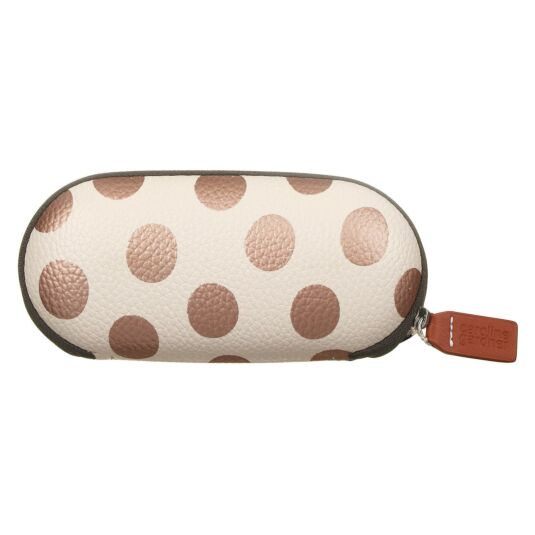 Metallic Spot Glasses Case