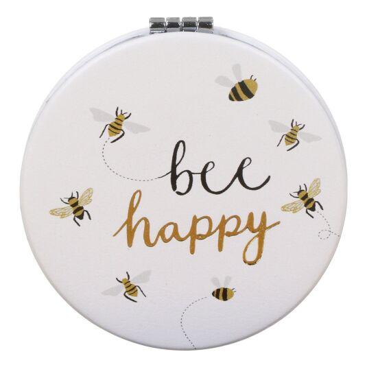 Bee Happy Pocket Mirror