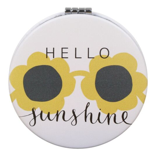 Hello Sunshine Pocket Mirror