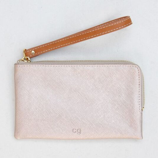 Rose Tinted Wristlet Purse