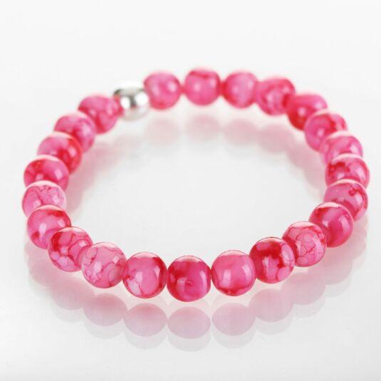Pink Marbled Bracelet