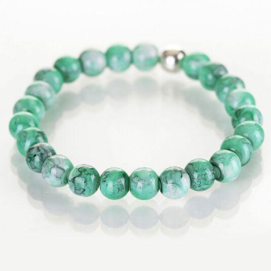 Jade Marbled Bracelet