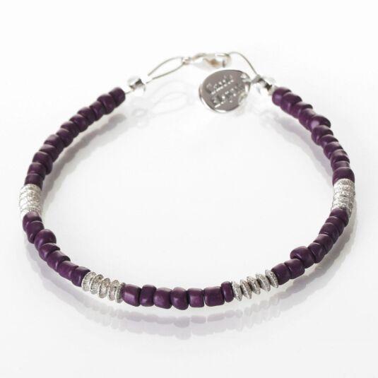 Purple Aztec Bracelet