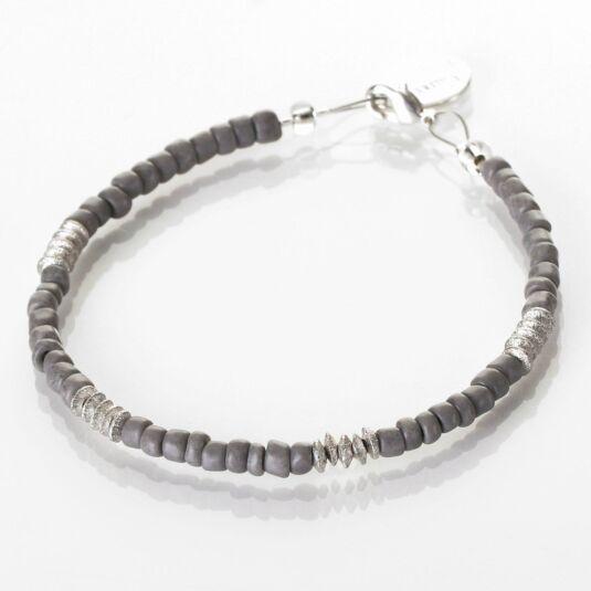 Grey Aztec Bracelet