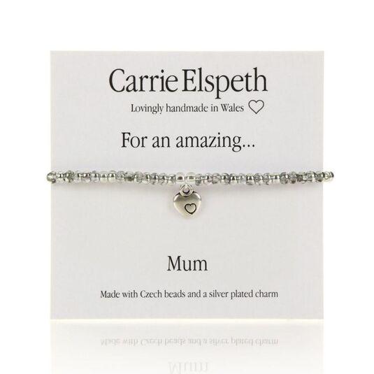 Amazing Mum Sentiment Bracelet