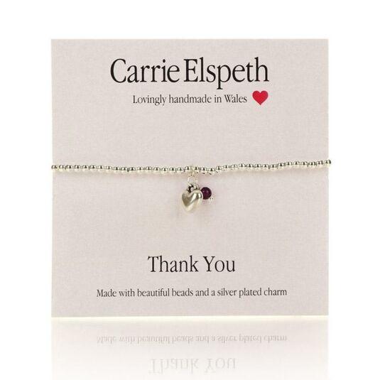 Thank You Sentiment Bracelet