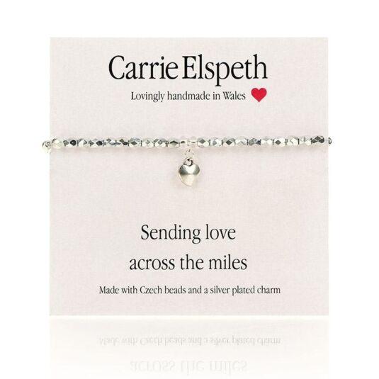 Sending Love Sentiment Bracelet