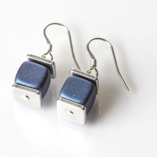 Slate Blue Deluxe Earrings