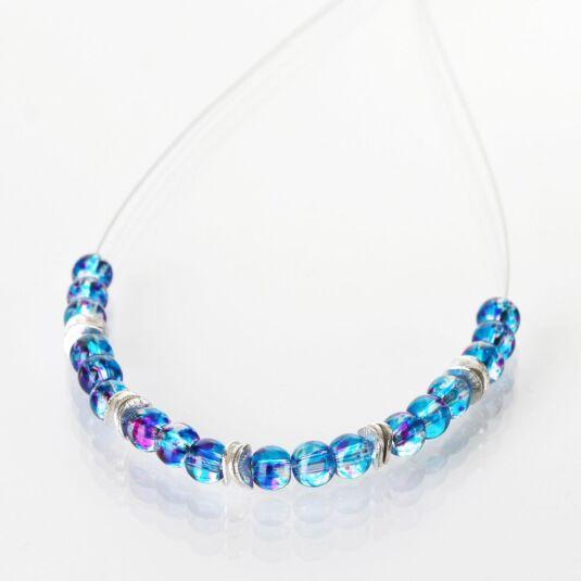 Turquoise Splashes Necklace