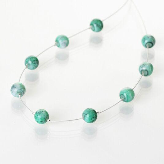 Jade Marbled Necklace