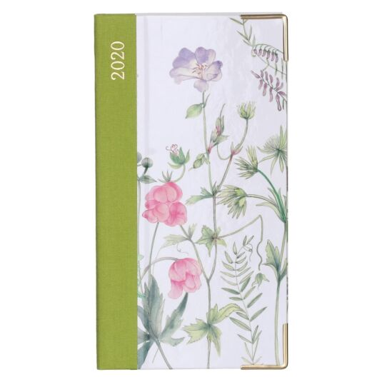 French Floral 2020 Slim Diary