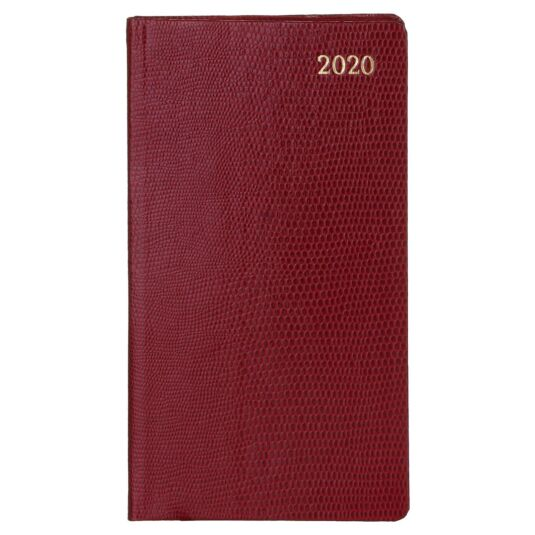 Cranberry Lizard 2020 Slim Diary