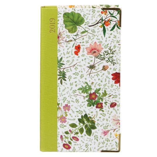 English Country Garden 2019 Slim Diary