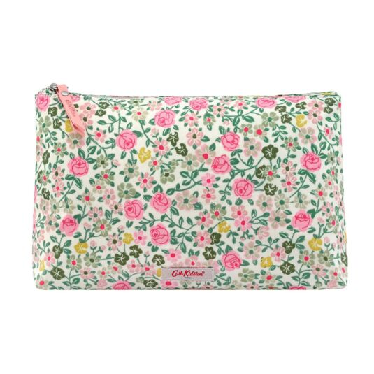 Hedge Rose Matte Zipped Cosmetics Bag