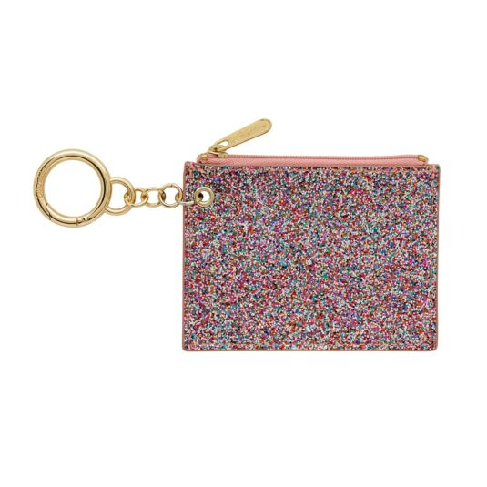 Painted Glitter Card Purse