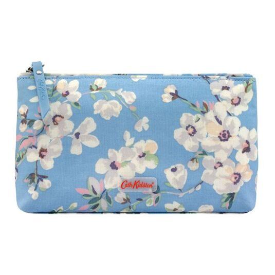 Wellesley Blossom Matte Zip Make Up Bag