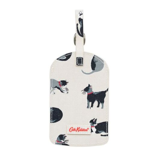 Small Painted Cats Luggage Tag