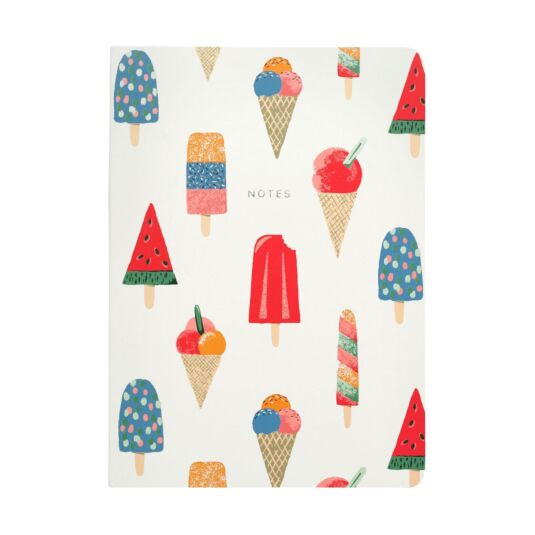 Ice Cream A5 Soft Back Notebook