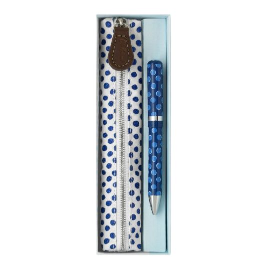 Sparkle Spot Pen and Pencil Case Gift Set