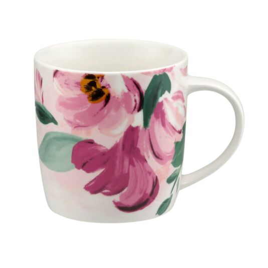 Large Paintbox Flowers Audrey Mug