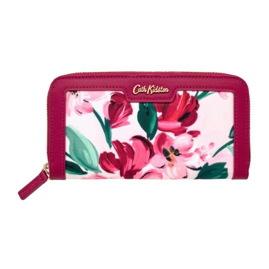 Paintbox Flowers Aster Wallet