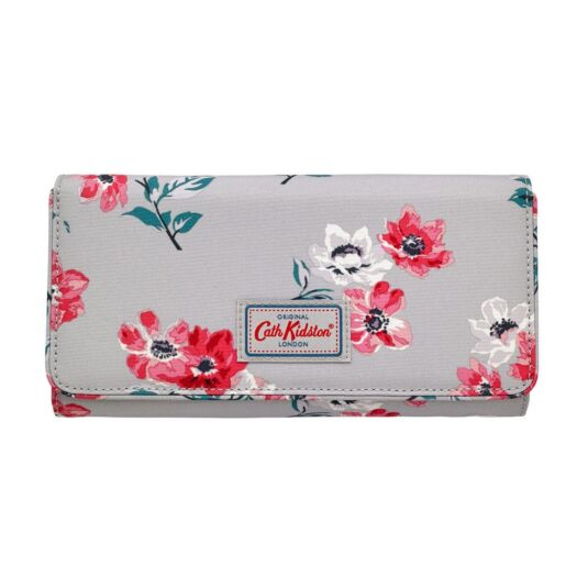 Small Anemone Bouquet Travel Document Holder
