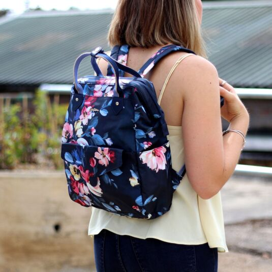Paintbox Flowers Frame Backpack