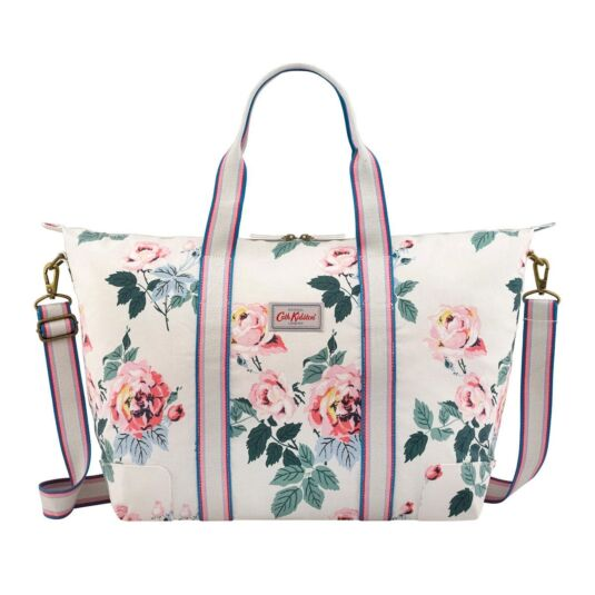 Eiderdown Rose Foldaway Overnight Bag