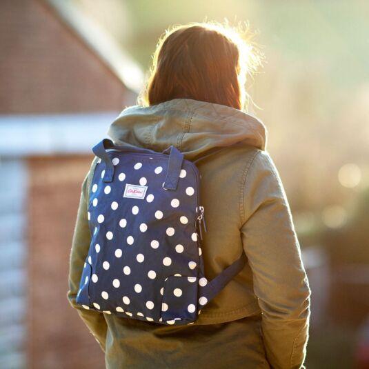 Button Spot Lightweight Backpack