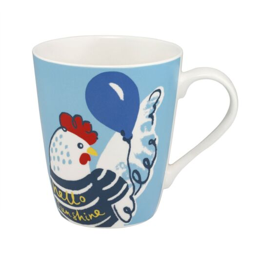 Light Blue Hen Party Stanley Shaped Mug