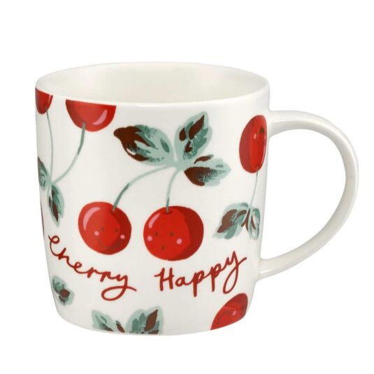 Cherry Happy Audrey Shaped Mug