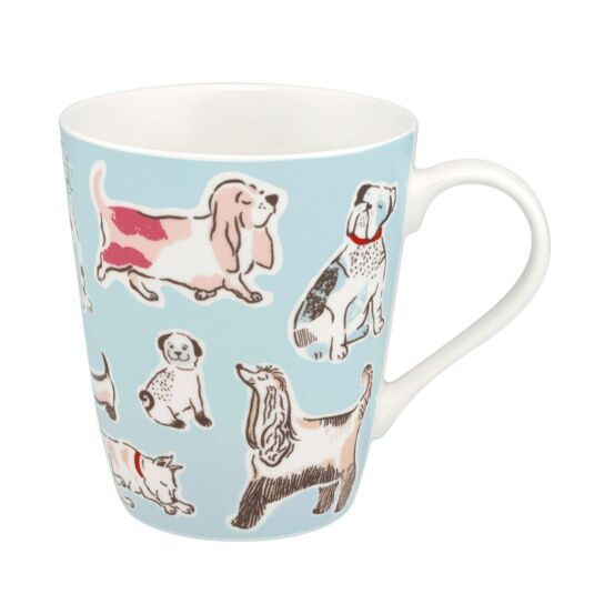 Squiggle Dogs Stanley Shaped Mug