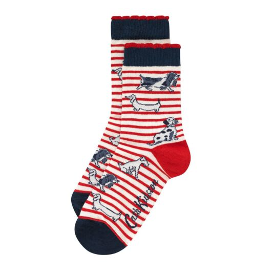 Squiggle Dogs Day Socks
