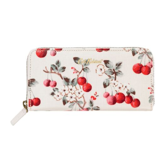 Cherry Sprig Continental Wallet