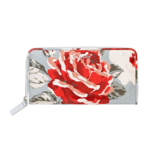 New Rose Bloom Continental Wallet