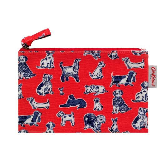 Mini Squiggle Dogs Zip Purse