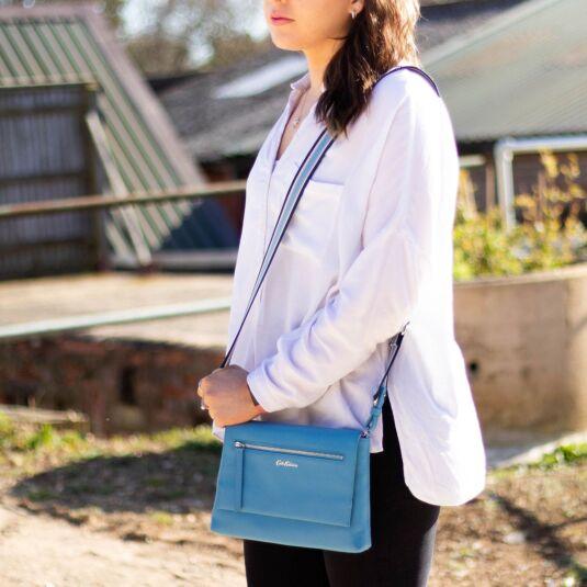 Barton Leather Cross Body Bag