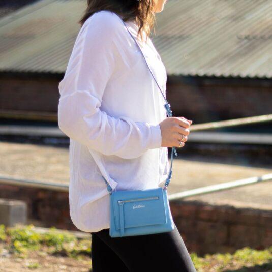 Barton Leather Clutch Bag
