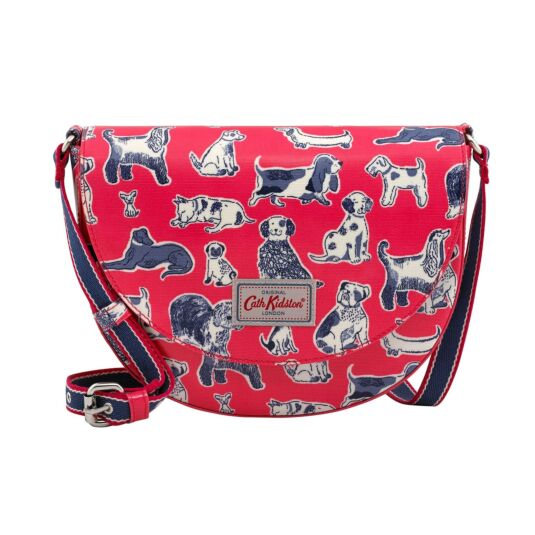 Squiggle Dogs Saddle Bag