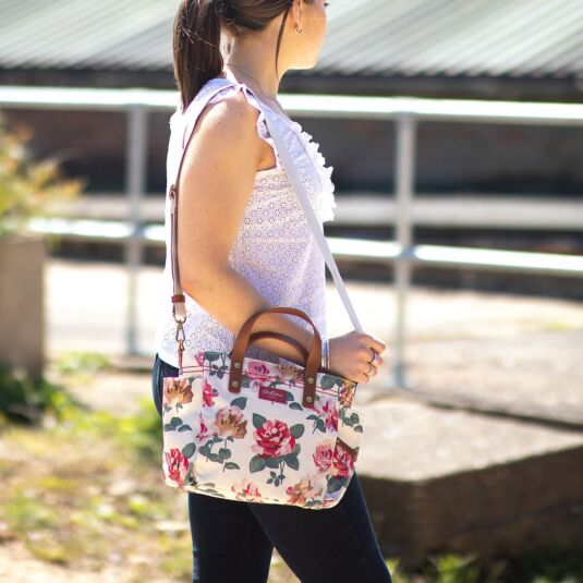 Chiswick Rose Small Canvas Tote Bag