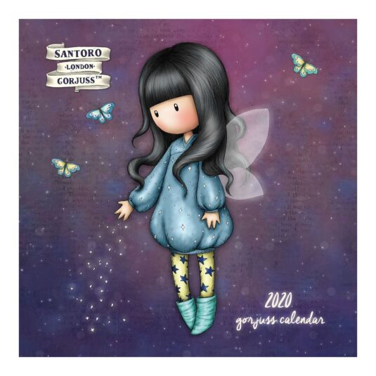 Bubble Fairy 2020 Wall Calendar