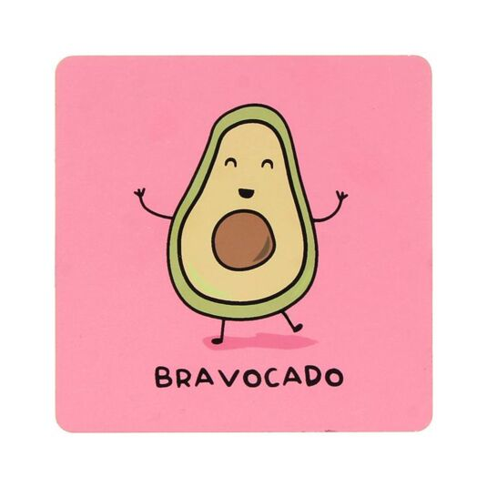 For The Pun Of It Bravocado Coaster